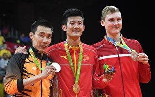 奥运羽球男单 中国选手谌龙晋级新球王