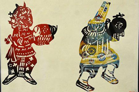 著名漫画艺术家张有为先生的多幅剪纸真迹将在中国节期间展出。(良克霖/大纪元)