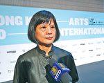 艺术发展局舞蹈组主席,著名舞蹈家梅卓燕对舞蹈大赛无法在港举办感到遗憾。(余钢/大纪元)