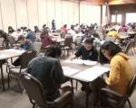 学生正在考试之中。 (大纪元资料图片)