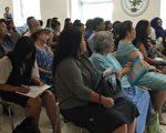 皇后區各界參加AFF新報告《亞裔老年人更新快照》發布會。 (施萍/大紀元)