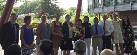 由驻纽约台北经文处和皇后区植物园主办的第三届台湾兰花世界展在皇后区植物园开幕。