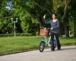 電動腳踏車省時不費力,最佳的代步車,生活大小事輕鬆搞定,增添生活樂趣。(莊孟翰/大紀元)