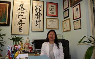 柯泓任医生台湾大学中文系毕业后于南加州考取中医师执照,并在此地执业多年。(徐绣惠/大纪元)