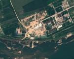 据日本媒体报导,朝鲜再次生产用于制造核武器的原料钚,并将进行第5次核试验。图为2012年8月22日拍摄的宁边核设施卫星照(GeoEye Satellite Image/AFP)