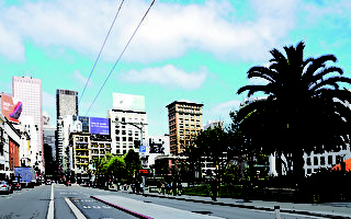 旧金山市的房源缺导致房价不菲、租房不易。(shutterstock)