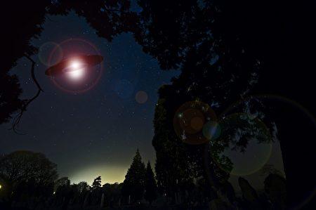 UFO構想圖(pixabay)