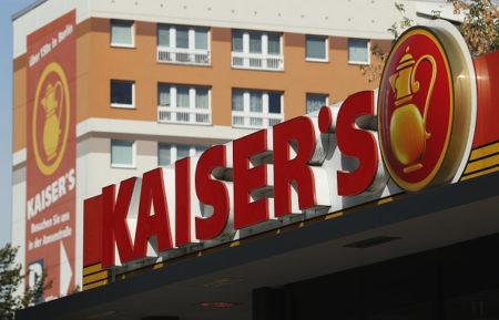 德国连锁超市Kaiser's-Tengelmann希望由Edeka一家收购,以便保住上(大纪元记者穆华德国报导)万名员工的工作岗位,最终结果两周后公布。 (Sean Gallup/Getty Images)
