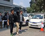 香港警方昨日(21日)拘捕6名懷疑涉案男子,據了解,部份人有黑社會背景。(蔡文雯/大紀元)