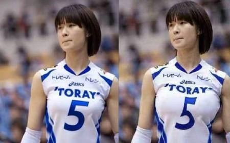 左为原图,右为被PS的图片。(网络图片)