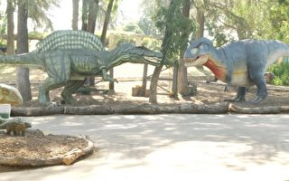 2016洛县博览会将临 侏罗纪恐龙再现