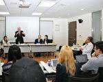 加前官员与韩大学生探讨如何制止中共活摘