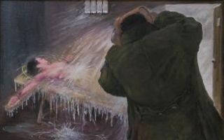 【中共百种酷刑之一】冰冻