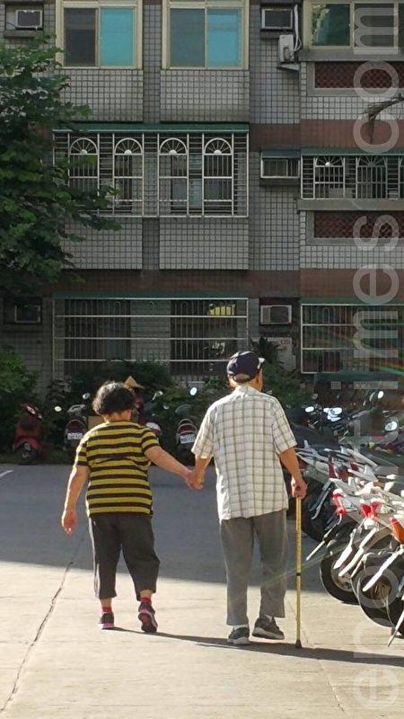 新竹市65岁以上的人口占全市10.81%。(林宝云/大纪元)