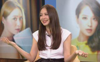 白歆惠日前接受《改變的起點》專訪時,首度在鏡頭前,談到與老公和夫家的互動。(中視提供)