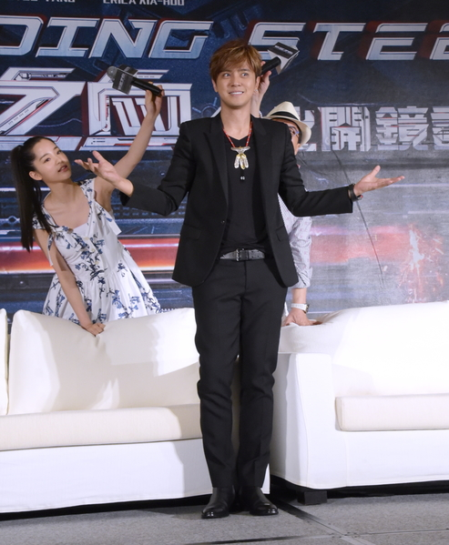 跨国制作电影《机器之血》台北开镜记者会