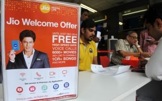 印度首富花2百億美元 讓全國免費用4G網絡