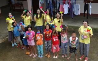 嘉大学生志工 缅甸泰北送爱心