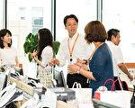 日本的人才派遣公司Imagine plus近年向各零售业派遣中文销售人员备受业界好评。图为Imagine plus公司的职场氛围。(游沛然/大纪元)