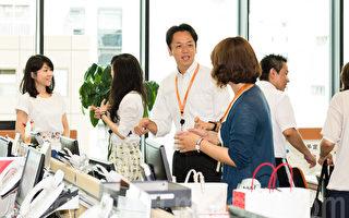 日本的人才派遣公司Imagine plus近年向各零售業派遣中文銷售人員備受業界好評。圖為Imagine plus公司的職場氛圍。(遊沛然/大紀元)