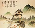 《二十四史》是中華傳統文化的重要載體之一,其中有許多名句警言宣揚傳統文化的道德理念,警示人們要順從天理,擇善而從。圖為清 沈宗騫〈竹林聽泉圖〉。(公有領域)