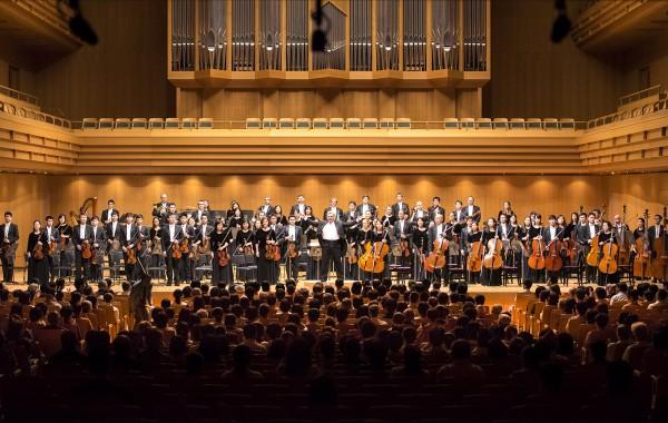 神韵交响乐团首抵日本,开启亚洲巡演。(野上浩史/大纪元)