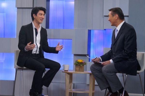 王力宏攜孕妻見證《火力全開》全球首映
