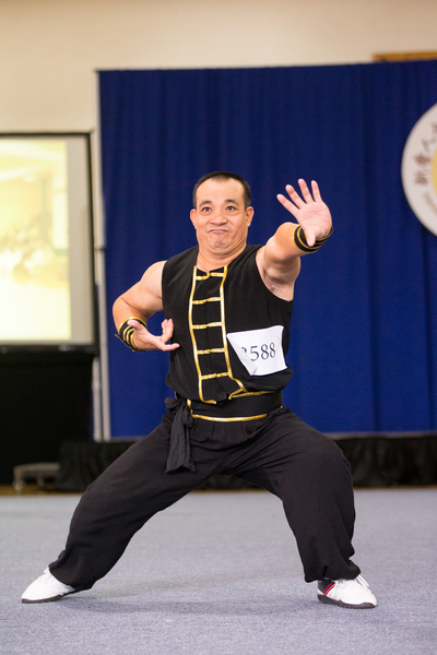 9月18日,新唐人武术大赛南方拳术组决赛,陈宪文获得银奖。(戴兵/大纪元)