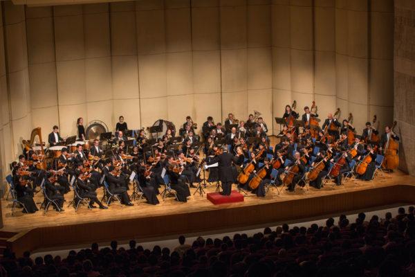 20160926神韵交响乐团在云林文化处表演厅演出