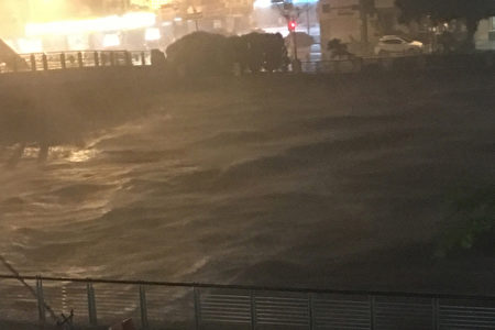 【图文直播】台风梅姬侵台 酿4死316伤