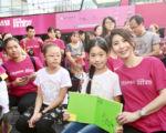 许茹芸日前受邀参与在上海公益活动。(茹声工作室提供)