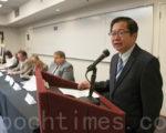 9月28日,加州反对64号提案联盟旧金山湾区协调人李少敏表示,这将是一场灾难。(周凤临/大纪元)