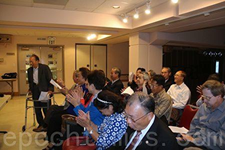 舊金山灣區三民主義大同盟第27屆常委宣誓就職