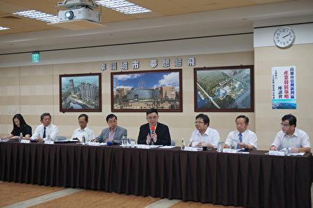 推動亞灣區開發共識,立委賴瑞隆30日召集產官單位座談,整合多方建議,形成政策建議。(賴瑞隆服務處提供)
