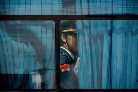 中共习惯于在幕后监视一切,这次对外媒采访G20做出种种限制。(AFP)