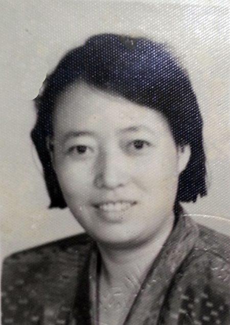 赵萍遗照(明慧网)