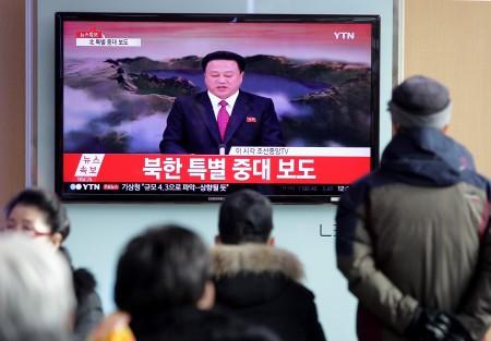 专家认为,美国和其东北亚盟国有效遏止朝鲜的方法是追踪平壤采购核武设备和部件的渠道,并予以阻断。(Chung Sung-Jun/Getty Images)