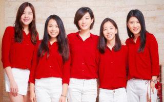 土女时代5位共同创办人,中间为执行长范瑄。(土女时代提供)