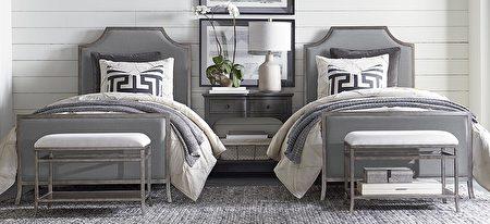 各种空间皆能订制家具,例如小孩房间。(湾区家具行Bassett提供)