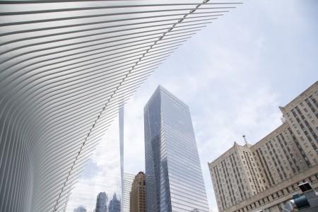 曼哈顿下城街景。