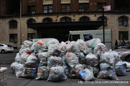 紐約:垃圾的全民打包制(縱覽中國配圖)