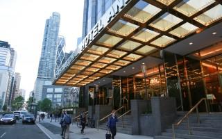 位于纽约的川普国际酒店。 (Rob Kim/Getty Images)