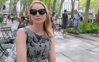 紐約客每日街拍-拋下一切衝到紐約的澳洲人(張靜怡/大紀元)
