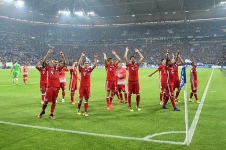 5-0大胜罗斯托夫后,拜仁创欧冠主场13场连胜纪录。 (Stuart Franklin/Bongarts/Getty Images)