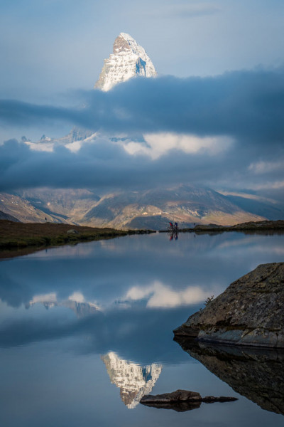 瑞士马特洪峰被誉为阿尔卑斯山脉的最美山峰。(瑞士旅游局提供)