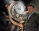 荣获2015年日内瓦高级钟表大赛最高奖金指针奖的高珀富斯(Greubel Forsey) 联合创始人斯蒂芬富斯表示:保护和传承十九至二十世纪的传统手工制表技艺非常重要。(大纪元)