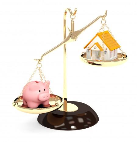 一定要支付20%的首付才能買房,這已經是買房的過去式(Fotolia)
