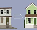 美国有9个城市的炒房市场,翻修转卖一栋房子可赚10万美元以上。(fotolia)