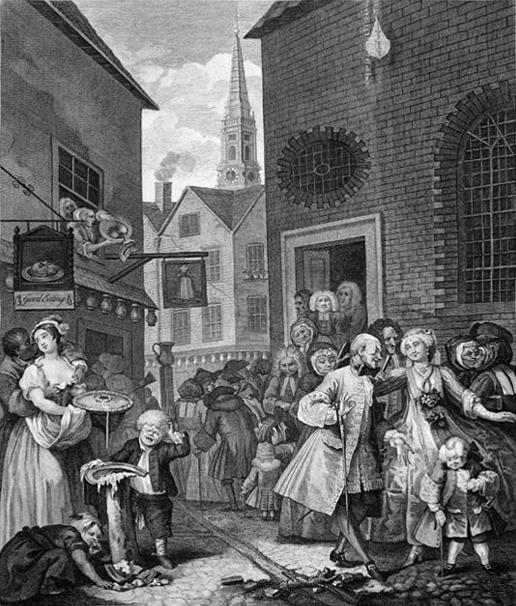 20世纪初的英国。(公共领域。)