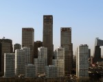 BEIJING, CHINA - APRIL 11: A general view of Beijing CBD on April 11, 2011 in Beijing, China.  (Photo by Lintao Zhang/Getty Images)